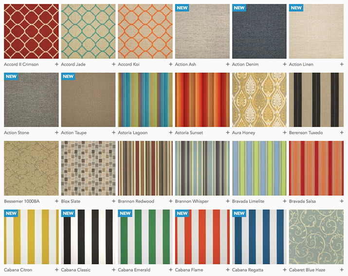 Seasonal Concepts Sunbrella Fabric Seasonal Concepts